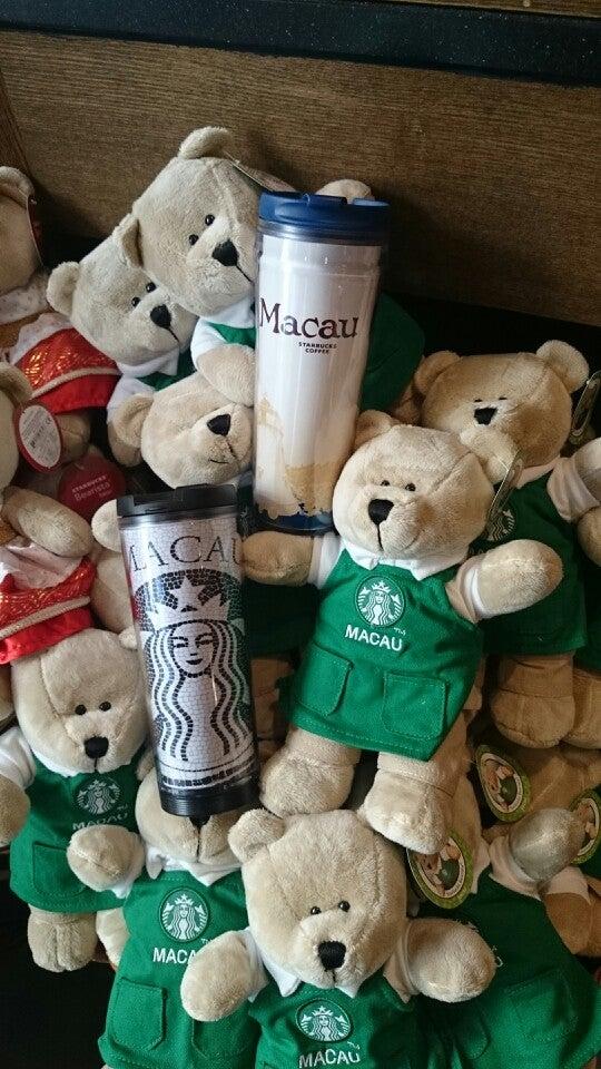 マカオのお土産:Starbucks 星巴克 スターバックスグッズ