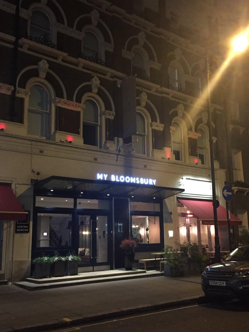 Photo of My Bloomsbury