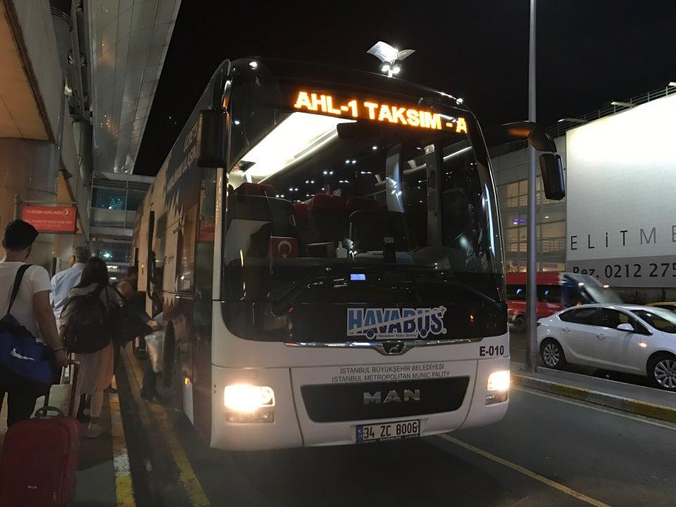 Havas Bus to Taksim