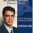 dr jeffrey hayden