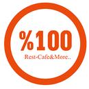 %100 Rest. Cafe & More.