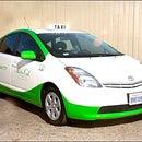 Santa Monica Green taxi Metro Cab Co