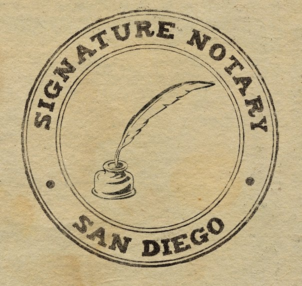 Notary Public Fees San Diego | Notary Public Cost